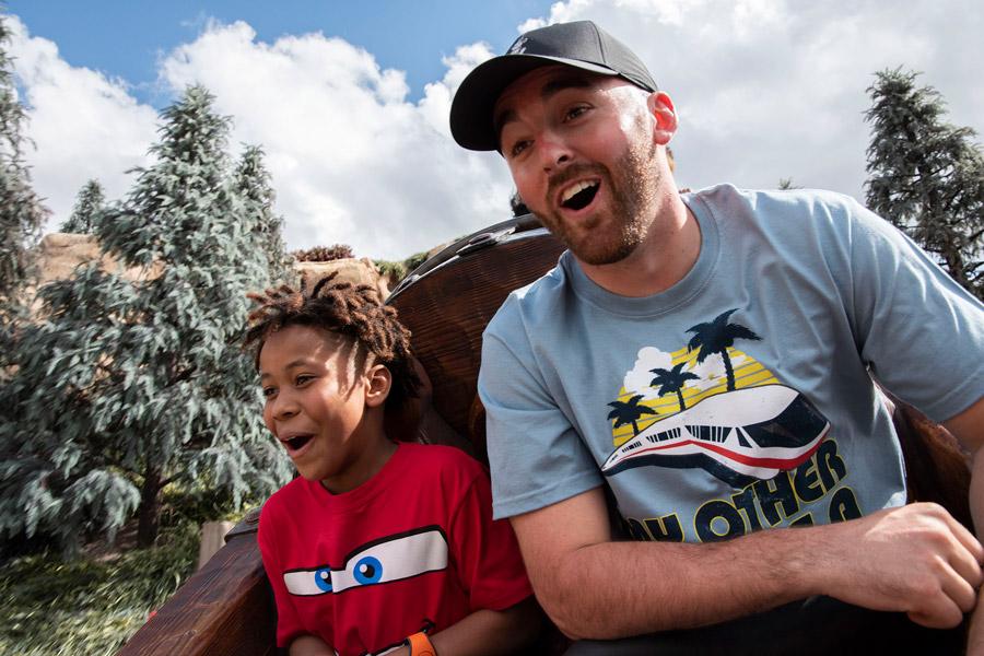 Reigning Daytona 500 Champion Austin Dillon Surprises a Young Fan at Walt Disney World Resort