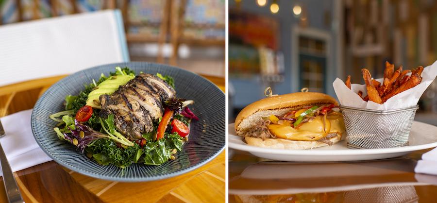 New Lunch Items at Banana Cabana Pool Bar at Disney's Caribbean Beach Resort