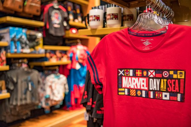 Inside Look: Exclusive Merchandise for Marvel Day at Sea