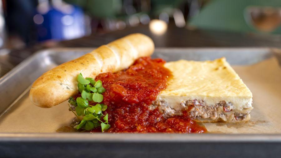 Lasagna-Pasticcio at Intermission Food Court at Disney's All-Star Music Resort