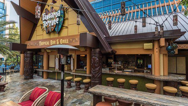 External shot of Tangaroa Terrace Tropical Bar & Grill