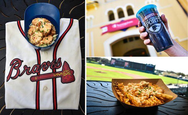 Satisfy Your Mid-Inning Cravings During the Final Atlanta Braves Spring Training Season!