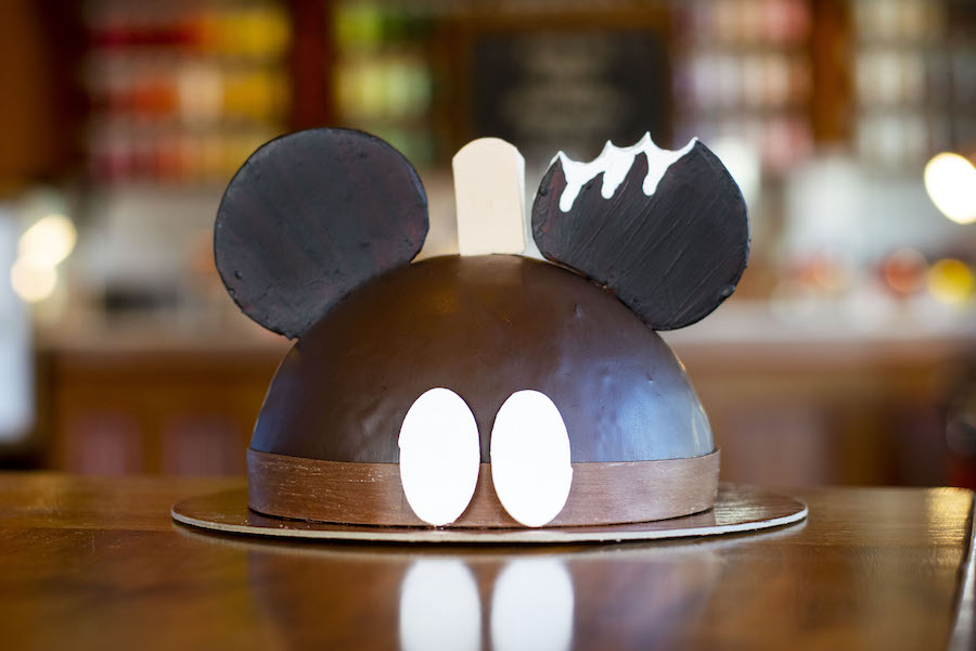 Mickey Bar Dome Cake at Amorette's Patisserie at Disney Springs