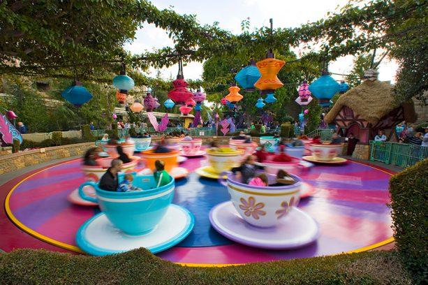 Mad Tea Party at Disneyland park