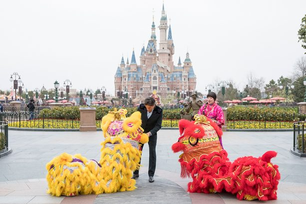 Shanghai Disney Resort Guests Enjoy Once-A-Year Chinese New Year Tradition
