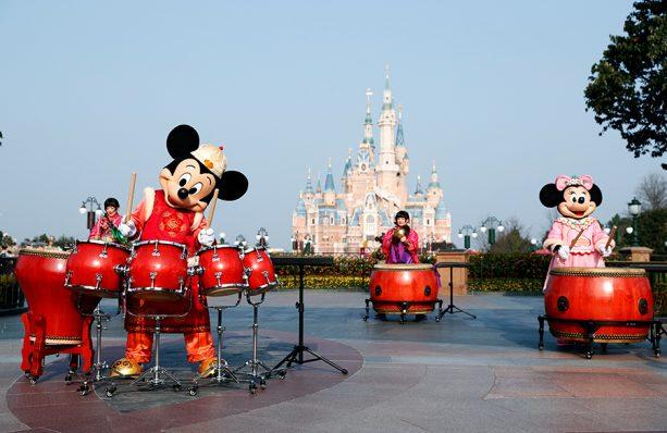 Chinese New Year celebrations at Shanghai Disney Resort