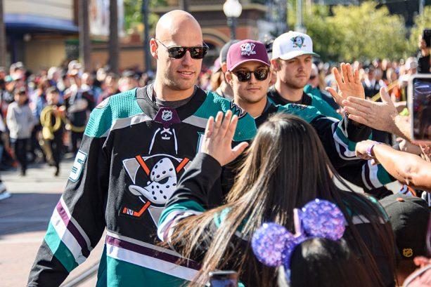 Disney and Anaheim Ducks Fans Celebrated Anaheim Ducks Day at Disney California Adventure Park