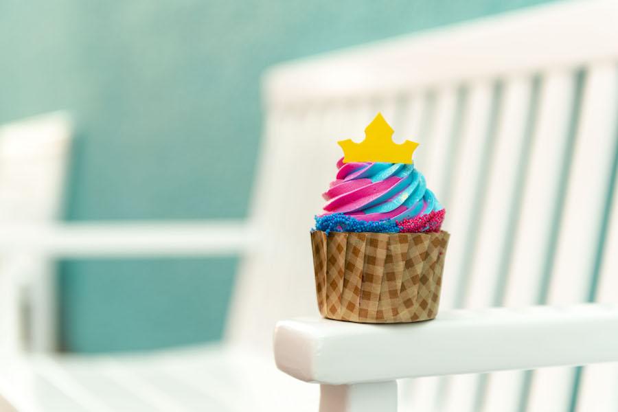 Aurora Cupcake at Intermission Food Court at Disney's All-Star Music Resort