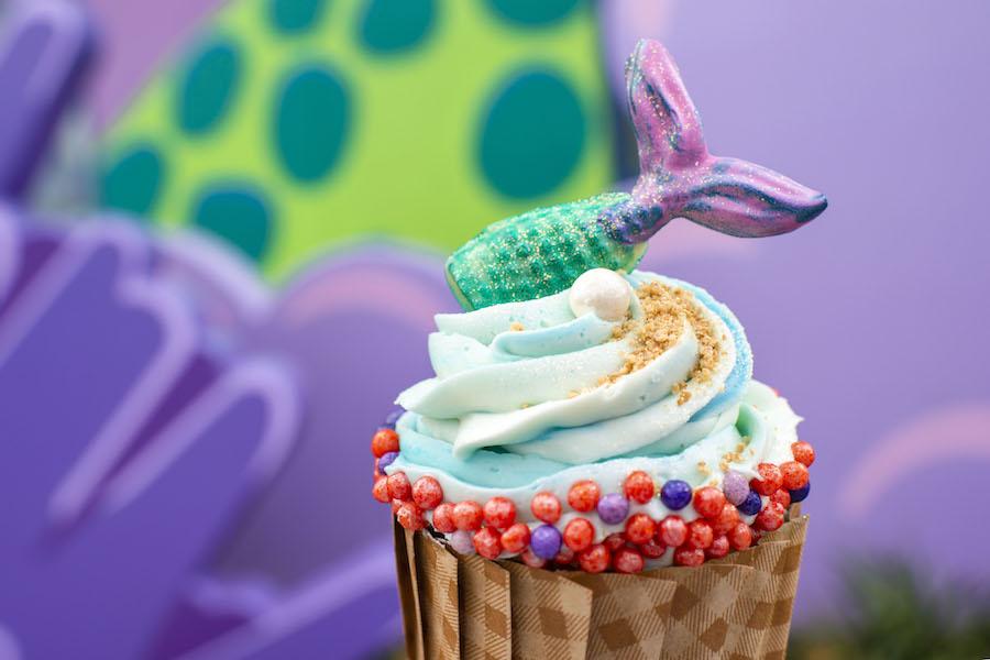 Mermaid Cupcake at Landscape of Flavors at Disney's Art of Animation Resort
