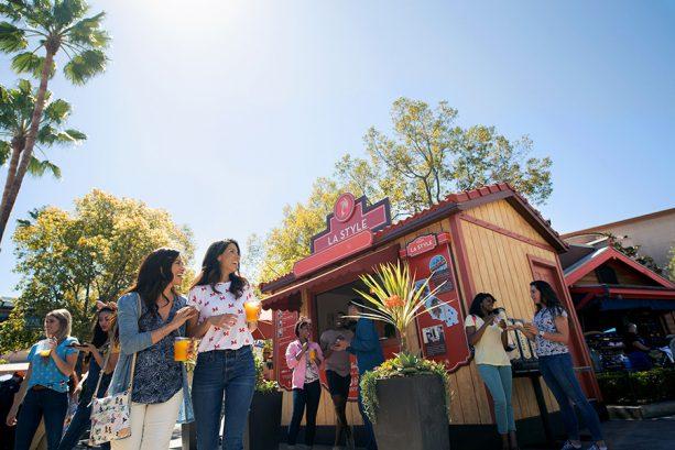 Food booth, Disney California Adventure Food & Wine Festival