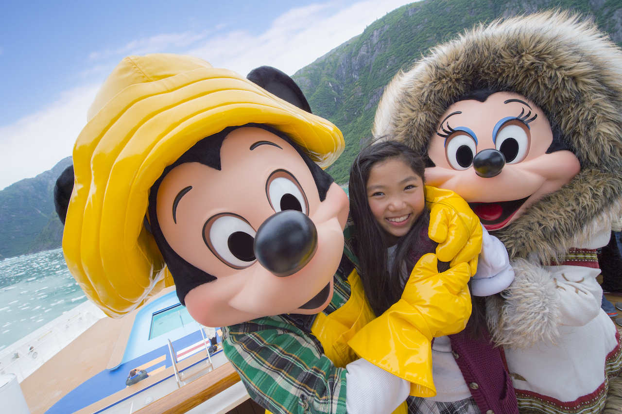 Mickey and Minnie in Alaska
