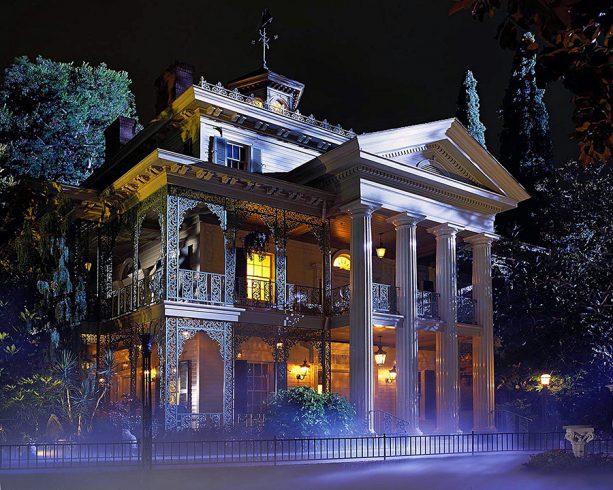 Haunted Mansion ride at Disneyland park