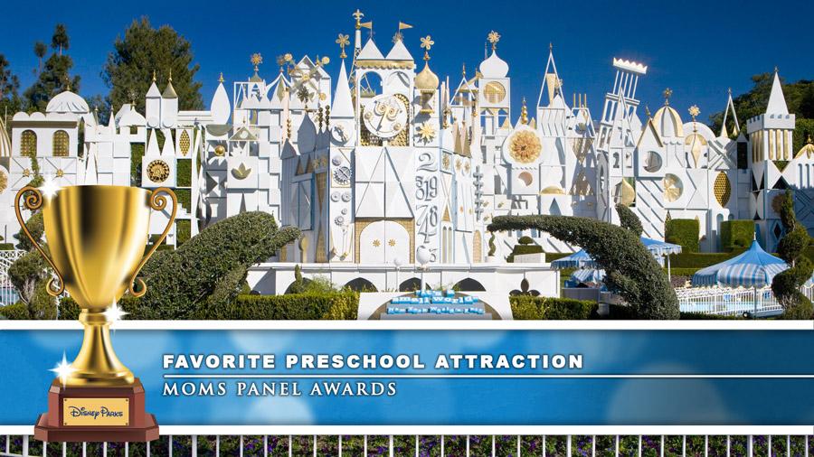 Disney Parks Moms Panel Awards 2019: Disneyland Resort - Favorite Preschool Attraction: it's a small world