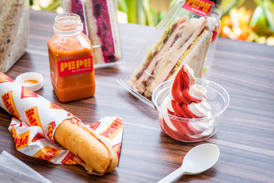 Offerings from Pepe by José Andrés at Disney Springs
