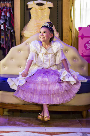 New Signature Rapunzel Makeover Debuts at Bibbidi Bobbidi Boutique Aboard Disney Ships