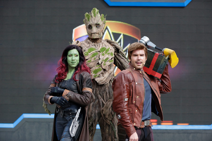 Guardians of the Galaxy: Awesome Dance-Off! at Disneyland Paris