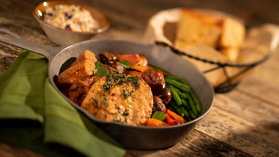 Vegan Dinner Skillet from Whispering Canyon at Disney's Wilderness Lodge