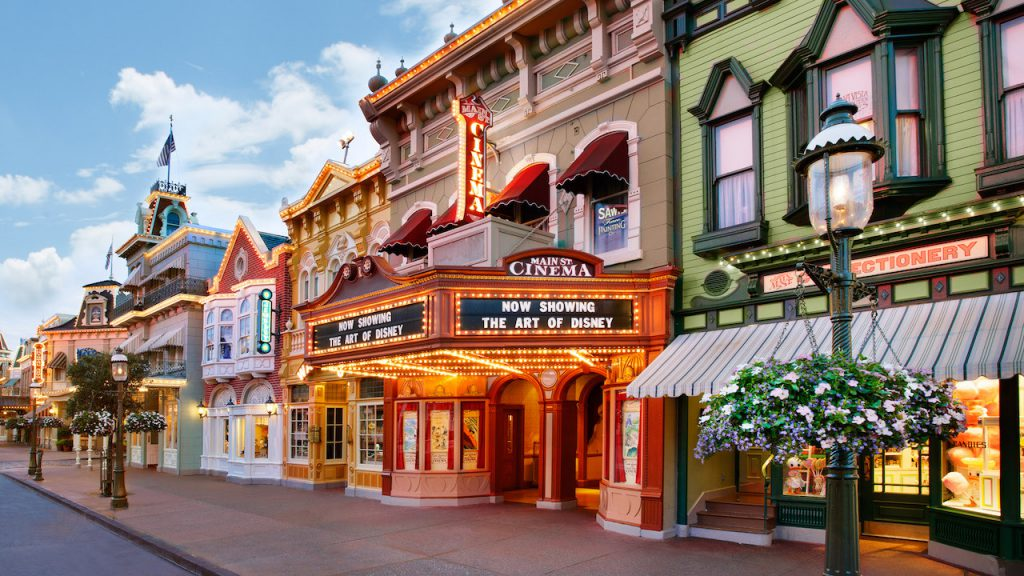 Main Street U.S.A. at Magic Kingdom Park