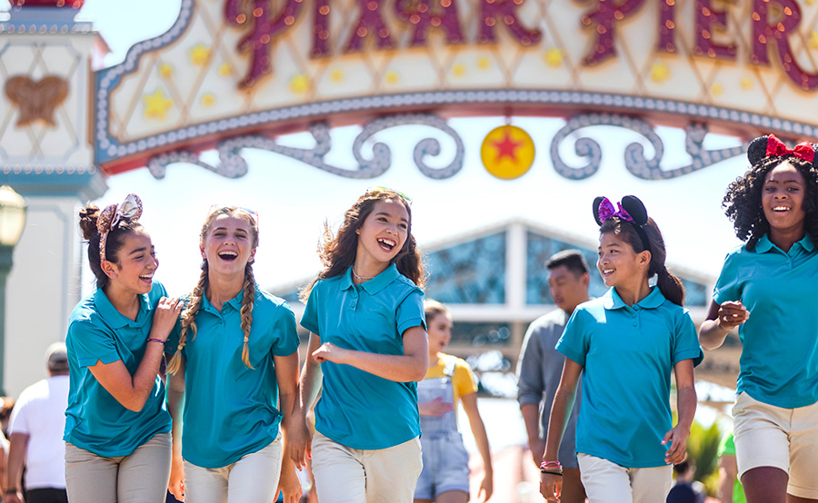Girl Scouts at Disney California Adventure Park