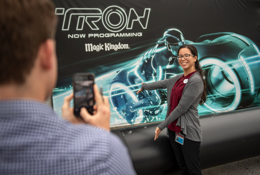 TRON Attraction Construction Milestone Celebrated at Magic Kingdom Park