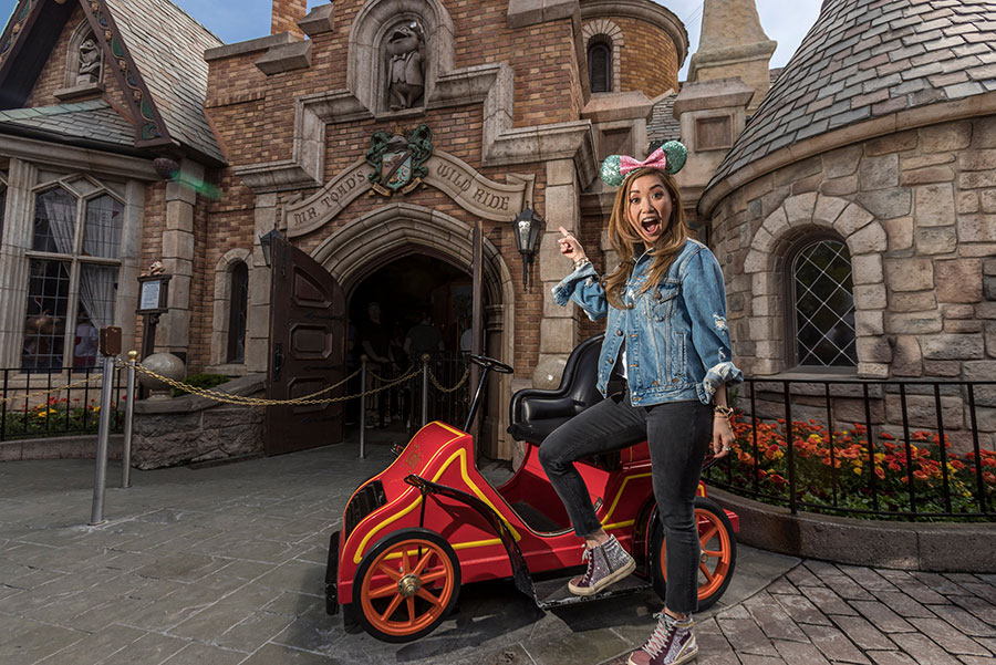 Actress Brenda Song Announces New Disney Channel Role During Disneyland Resort Visit