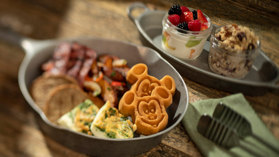 Lighter Side Breakfast Skillet from Whispering Canyon at Disney's Wilderness Lodge