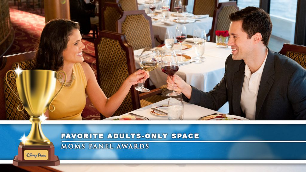 Adults Dining at Palo with Disney Cruise Line