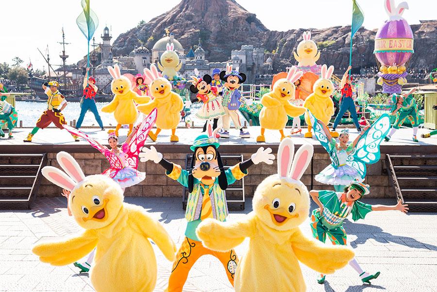 Disney's Easter Takes Over Both Parks at Tokyo DisneyResort