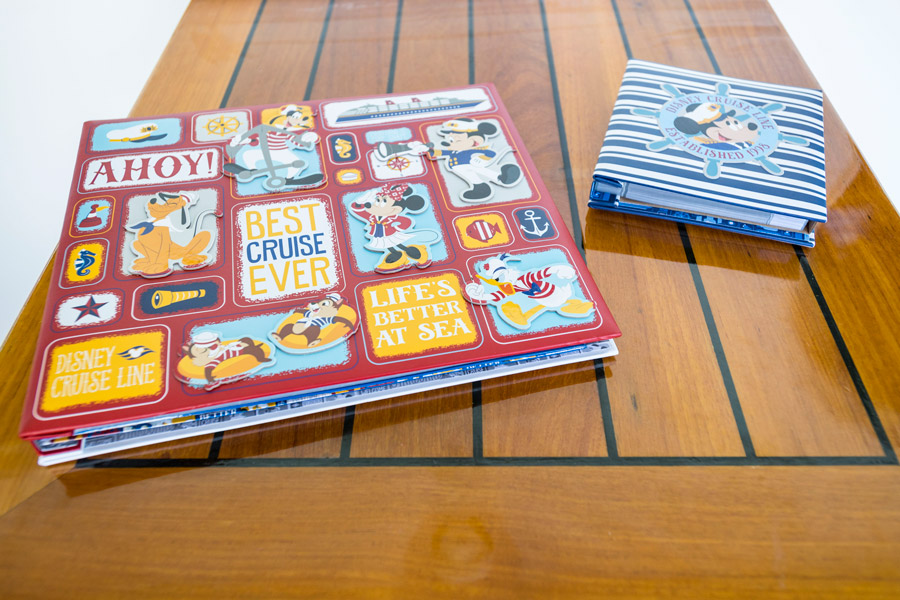 Disney Cruise Line's exclusive new Characters Ahoy collection - Scrapbook Kit and Photo Album