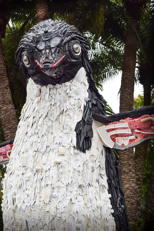 Marine Debris Sculpture Celebrates Disneynature Penguins and Inspires Conservation Action