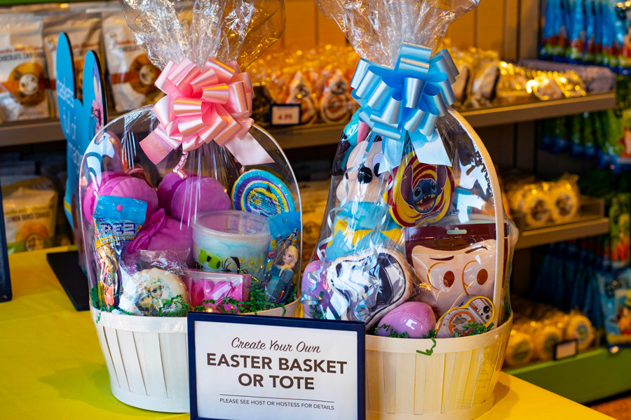 Goofy's Candy Co. Disney baskets at Disney Springs