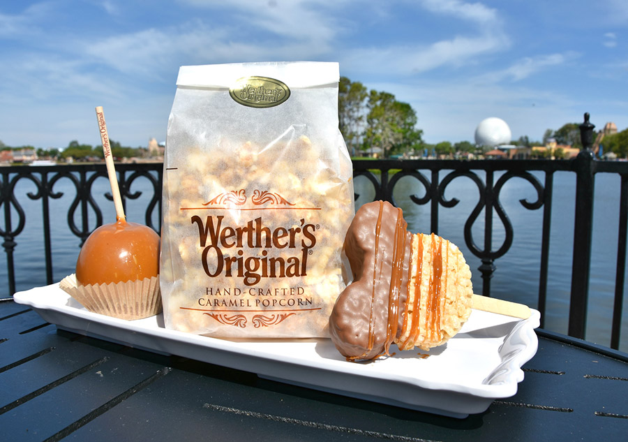 Celebrate National Caramel Day at the Karamell-Küche at Epcot