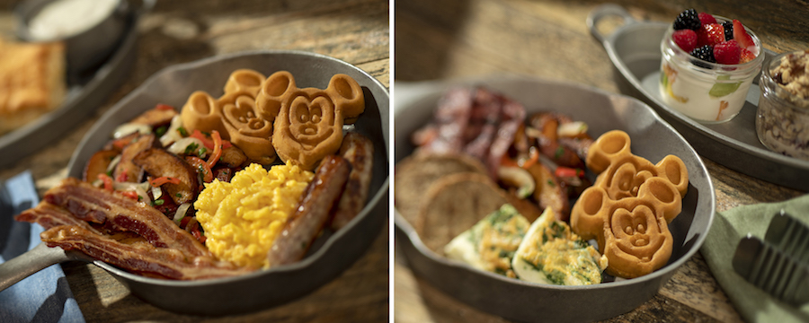 Breakfast Skillets from Whispering Canyon at Disney's Wilderness Lodge