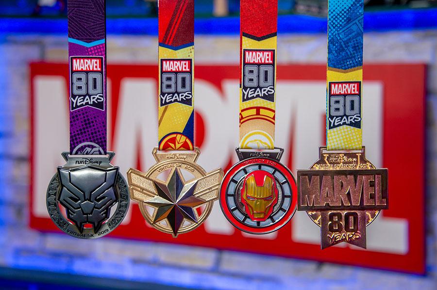 runDisney Virtual Series Celebrates 80 Years of Marvel!