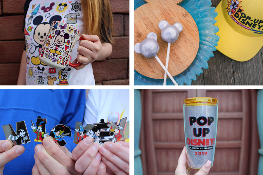 New Pop-Up Disney! A Mickey Celebration Merchandise is Popping Up in Downtown Disney District at Disneyland Resort