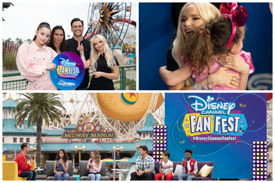 Disney Channel Fan Fest Delights Guests with Star-Packed Day at Disneyland Resort