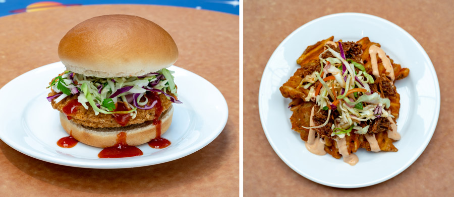 May the 4th Offerings from Galactic Grill at Disneyland Park
