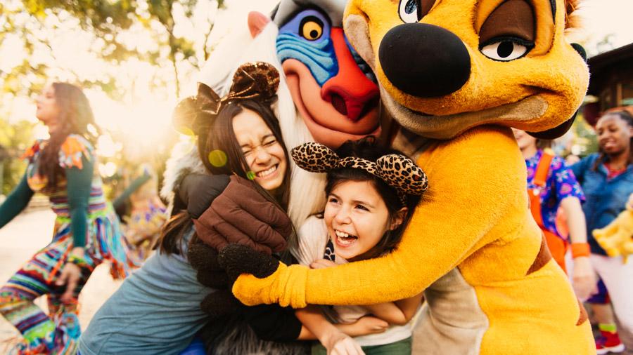 Hakuna Matata Dance Party at Disney's Animal Kingdom Theme Park