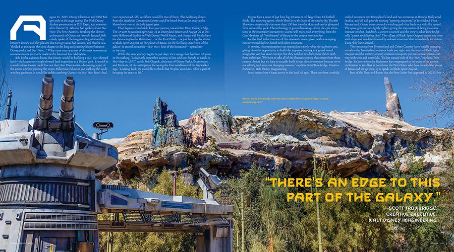 First Look: Star Wars: Galaxy's Edge Lands on the New Disney twenty-three