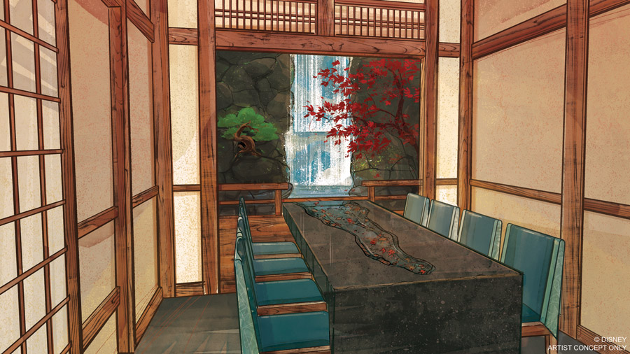Takumi-Tei Restaurant to Open Summer 2019 at Epcot