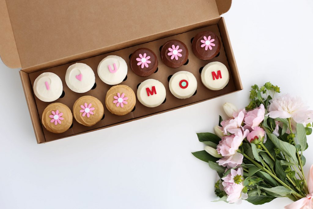 Mother's Day Cupcake Box from Sprinkles at Disney Springs and Downtown Disney District