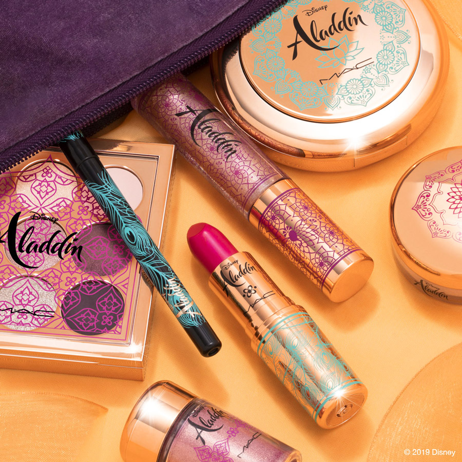 Disney Aladdin Collection World Premiere by M•A•C Cosmetics Debuts May 15 at Disney Springs