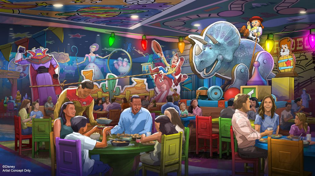 Disney's Hollywood Studios Celebrates 30 Years with Debut of Nighttime Projection Show, Toy Story Land Restaurant Announcement, New Logo and More