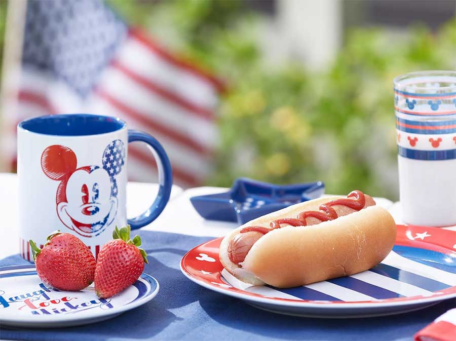 Kick-off Summer Fun with Patriotic, Americana Inspired Merchandise Now Available at Disney Parks