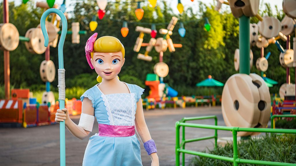 Bo Peep at Toy Story Land