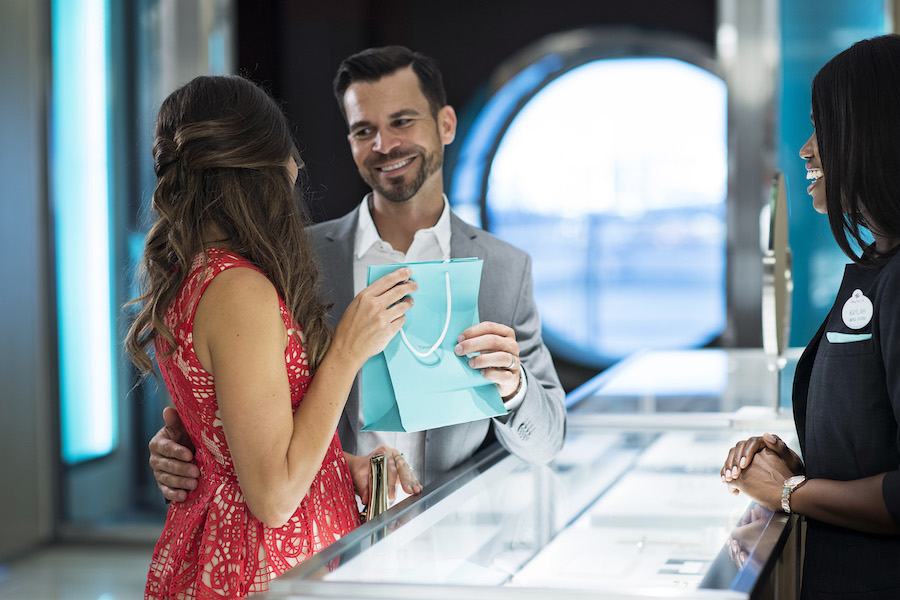 Tiffany & Co. Opens Today Aboard the Disney Dream