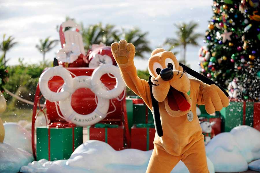 Pluto aboard the Disney Fantasy