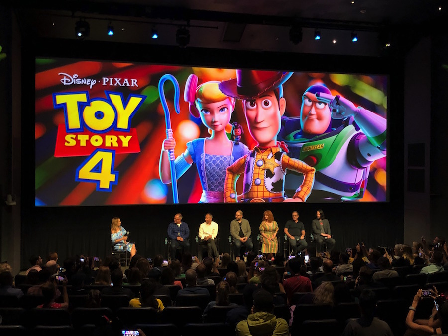 Filmmakers and Stars from 'Toy Story 4' Visit Walt Disney World Resort