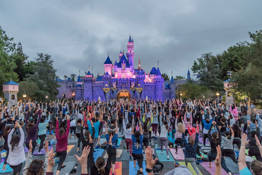 Stunning Sights From Around The World As Cast Members Celebrated International Yoga Day
