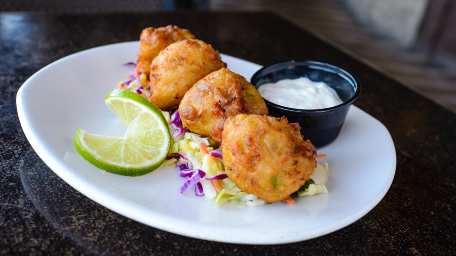 Conch Fritters from Rainforest Café for Disney Springs Flavors of Florida